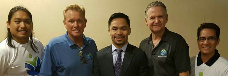 This is the owner of Ultimate Health Keith Struxness and the National Marketing Director Mark Smiley meeting with Senator Manny Pacquiao in the Philippines. We are launching the company there in April 2017. Become a member at www.joinultimatehealth.com/julian