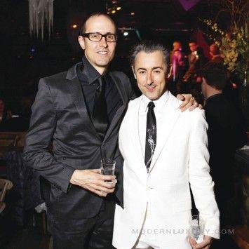 Grant Shaffer and Alan Cumming