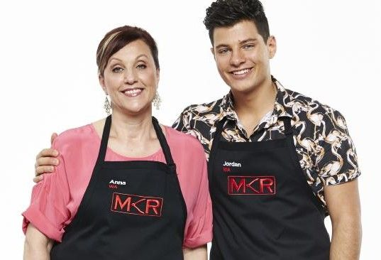 """I am very proud to be waving the gay flag."" ‪#‎MKR‬ My Kitchen Rules http://www.qnews.com.au/jordan-adds-gay-flavour-to-my-kitchen-rules/"