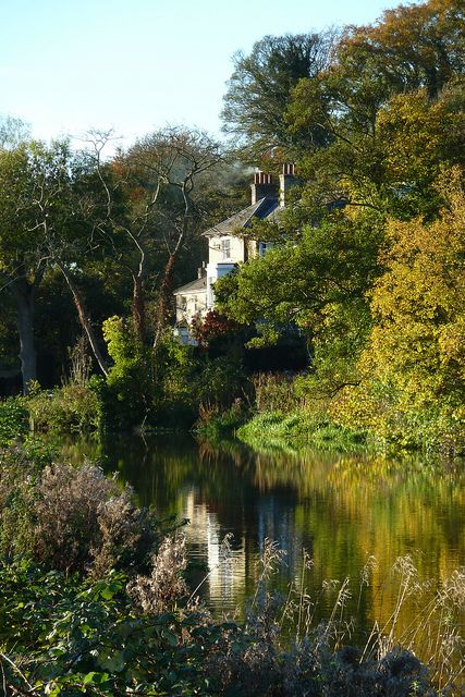 House on the River Lea at Hertford
