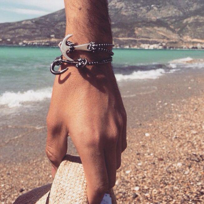 Bracelets for men.