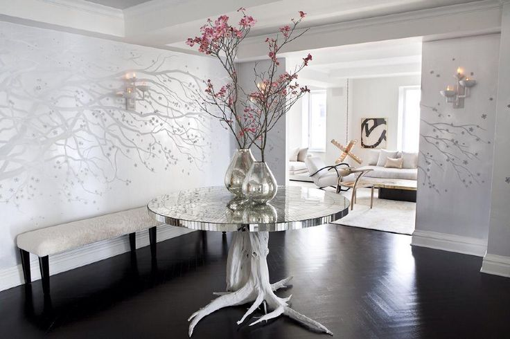 Ivanka Trump Apartment In Park Avenue | Celebrity Homes. Simple, Elegant, Stunning - clutter free dD
