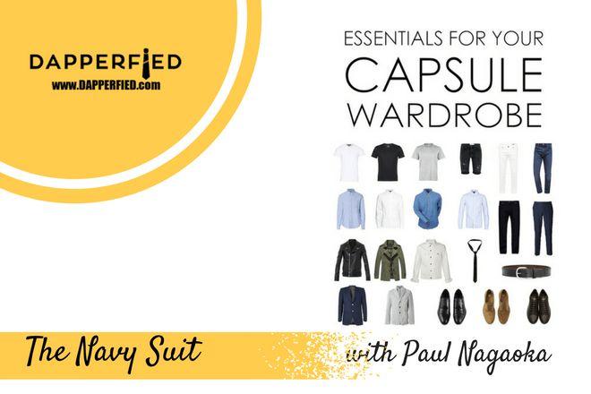Timeless Wardrobe Essentials: The Navy Suit. - http://www.dapperfied.com/timeless-wardrobe-essentials-navy-suit/