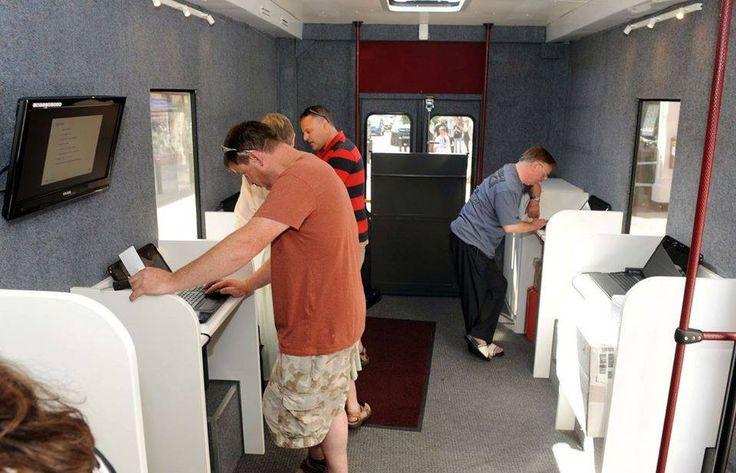 Inside the Van of Kerry Genealogy Roadshow