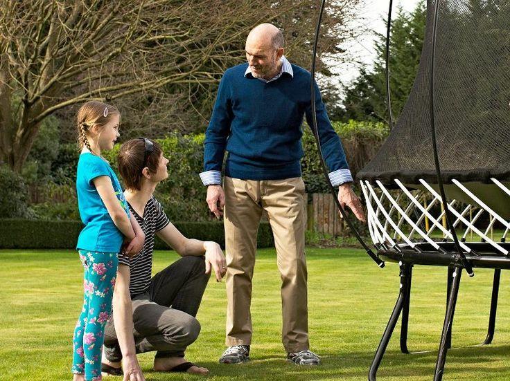 Spring free trampoline - safest trampolines