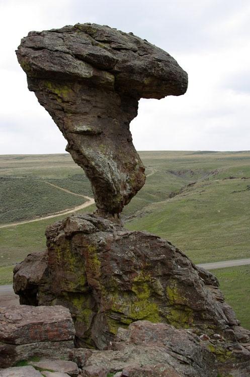 Balanced Rock, Castleford, ID