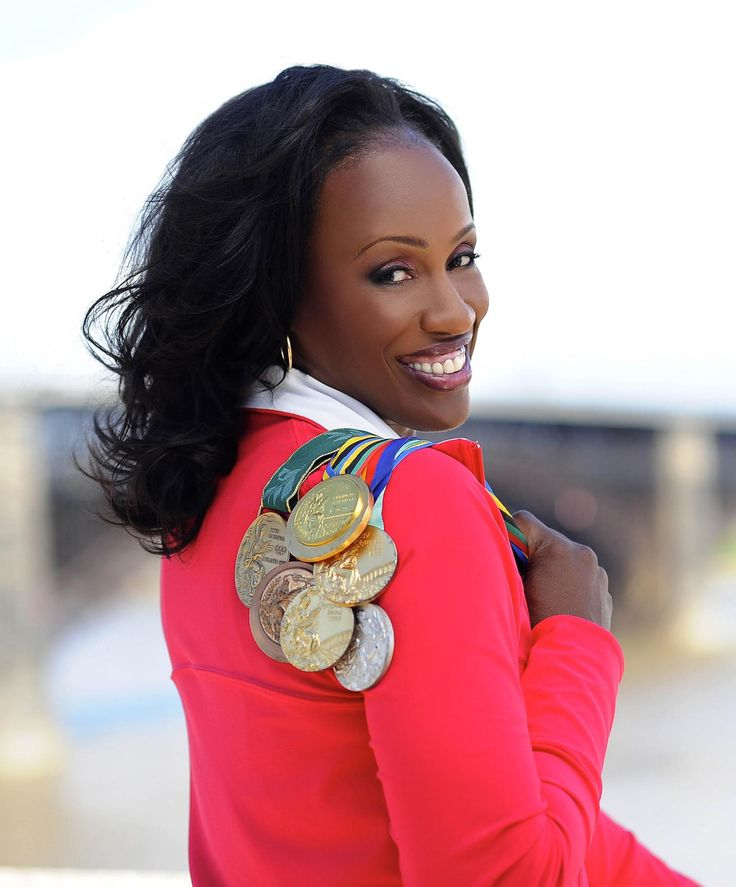 Jackie Joyner Kersee - Multiple Gold Medal Winner