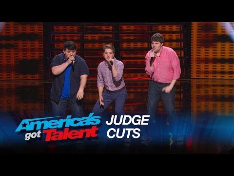 "Triple Threat: Nerdy College Guys Cover ""Problem"" by Ariana Grande - America's Got Talent 2015 - YouTube"