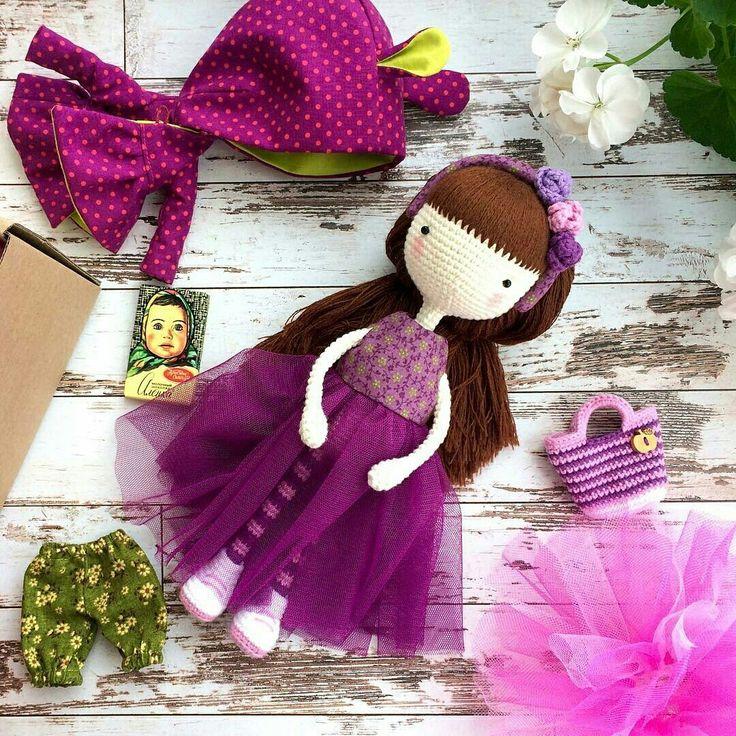 Beauty and Things (Вязаная игрушка, амигуруми) | VK