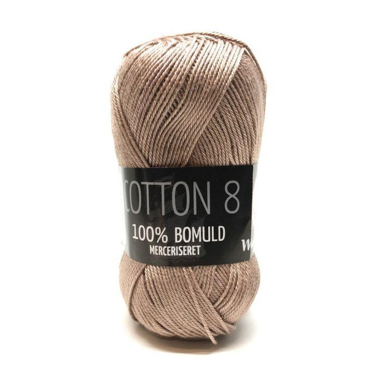 Mayflower Cotton 8/4 Merceriseret - 704 Lysebrun