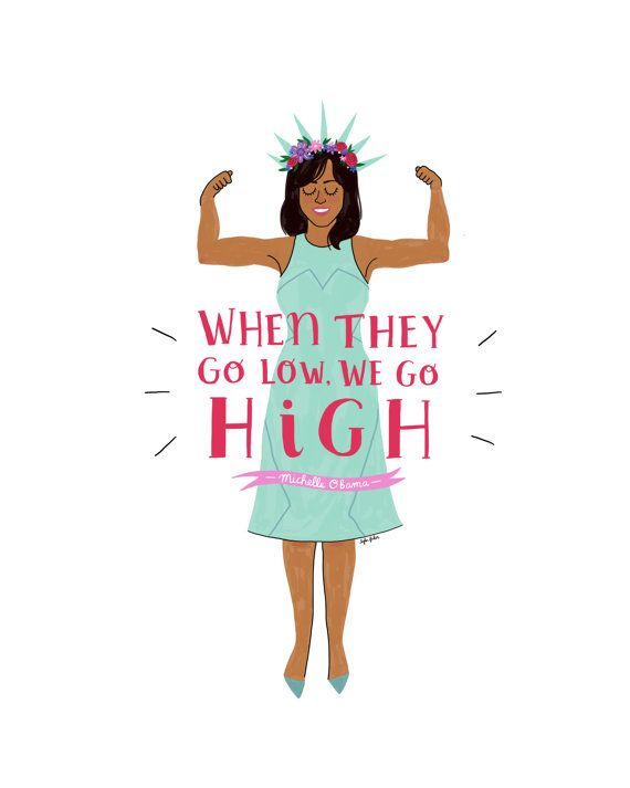 Hey, I found this really awesome Etsy listing at https://www.etsy.com/listing/490218435/michelle-obama-print-hand-illustrated