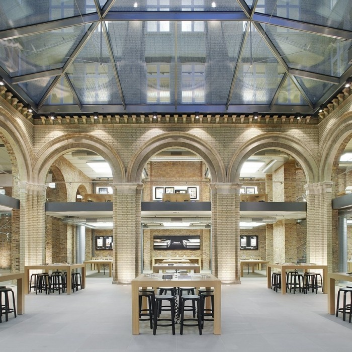 Apple Store - Covent Garden By Bohlin Cywinski Jackson Architects
