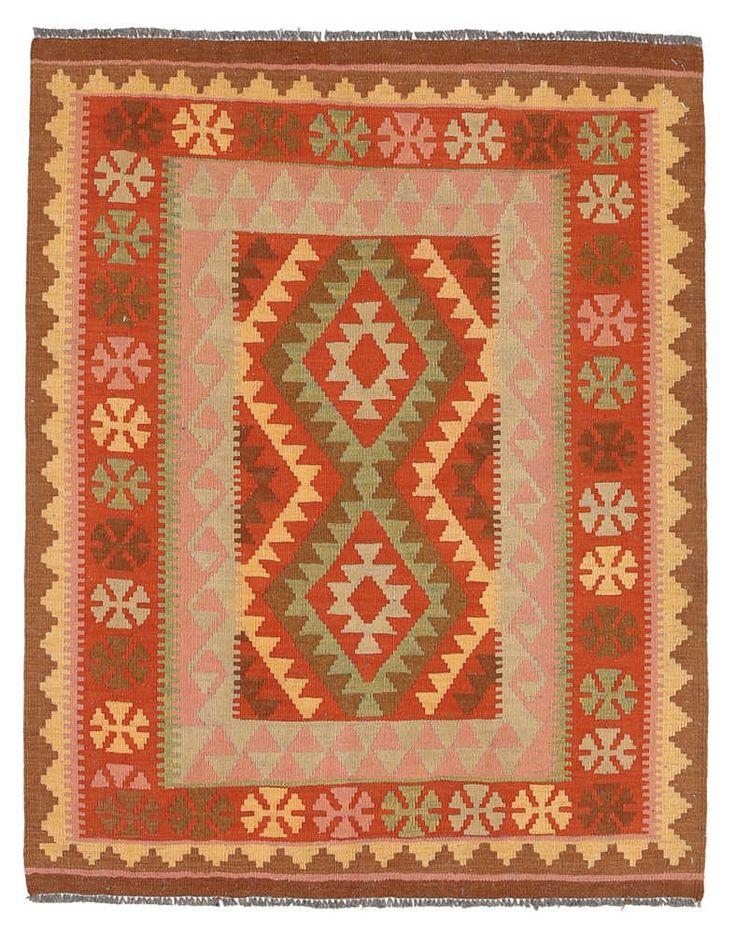 Kelim Afghan Old style matta NAX779