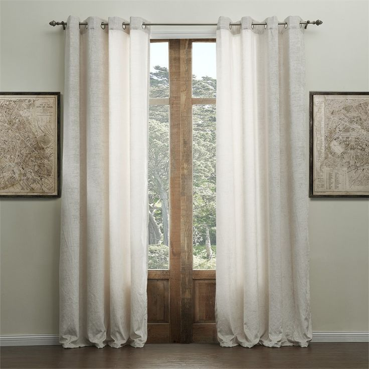 Solid Chenille Classic Eco-friendly Curtain   #curtains #decor #homedecor #homeinterior #beige