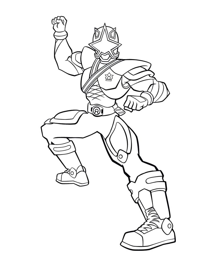 power rangers coloring pages | Red Power Ranger Coloring ...