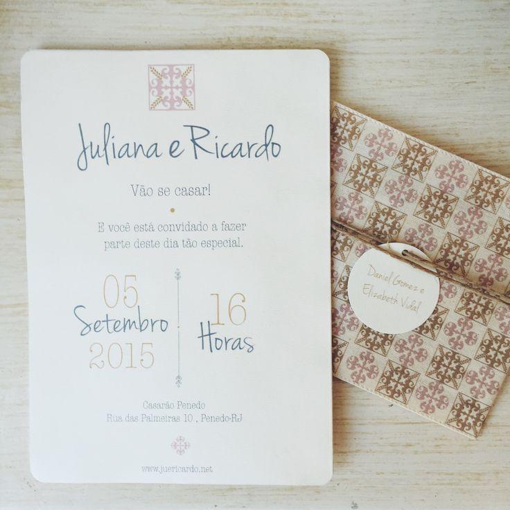 Duo Amor  - Convites e papelaria de casamento