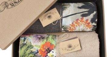 The most summer-y wedding gift! #sunofabeach gift set #yesidogr