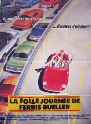 I didn't buy this but I tried to get my friend who has a son named Ferris to. That counts doesn't it?: My Friend, Movie Posters, French Posters, Picture-Black Posters, Posters En, Posters Cars
