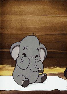 Mi piacciono da morire gli elefanti, e Dumbo è la dolcezza fatta cartone.