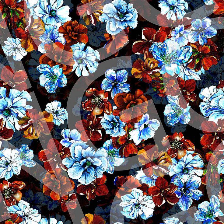 Floral Aquarelado