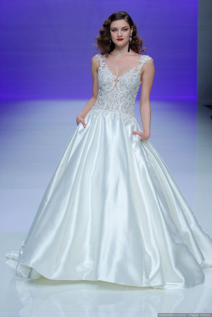 Mejores 27 imágenes de Vestidos de novia corte princesa en Pinterest