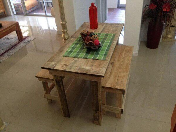 These are the best table designs that we have smartly created by recycling the old shipping pallets easily available all around the world. These days wooden pallets table are getting much importance because of their beautiful designs and long-lasting material.