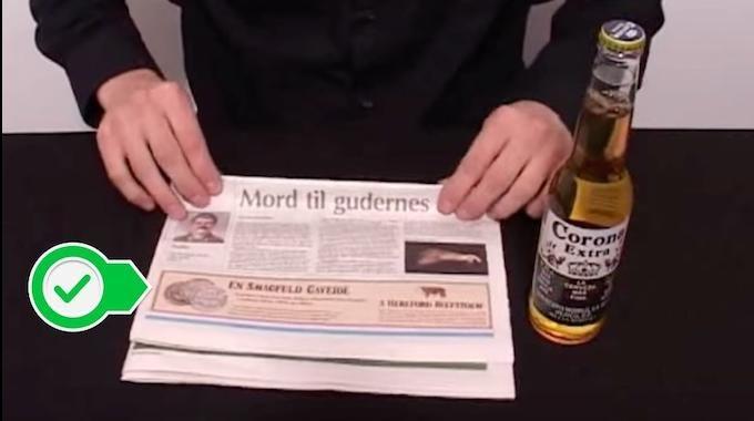 Besoin d'ouvrir une bouteille de bière? Mais vous n'avez pas de décapsuleur sous la main ? Pas besoin d'aller en acheter un ! Tout ce dont vous avez besoin, c'est d'un journal papier.  Découvrez l'astuce ici : http://www.comment-economiser.fr/comment-decapsuler-bouteille-de-biere-avec-papier-journal.html?utm_content=buffera4ae2&utm_medium=social&utm_source=pinterest.com&utm_campaign=buffer