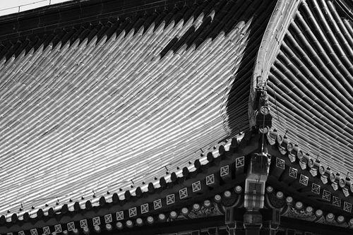 Pagoda roof detail (Temple of Heaven - Beijing)