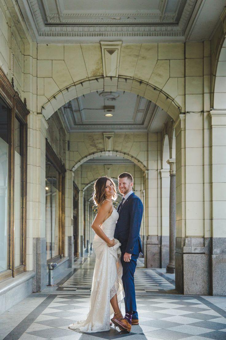 Le Germain Calgary Rooftop Wedding bride and