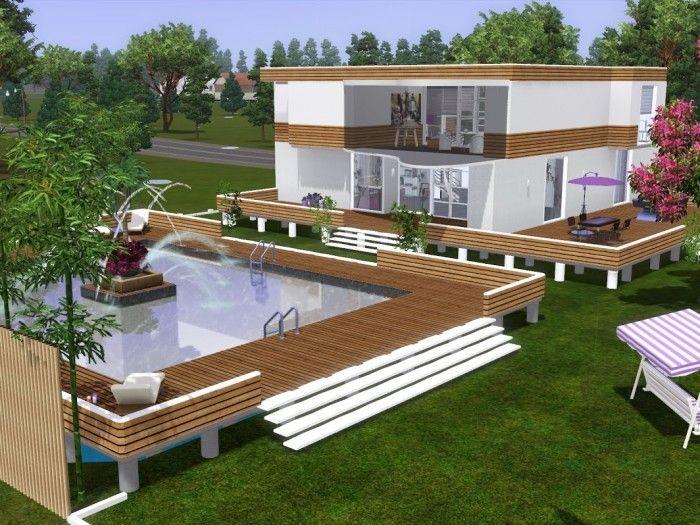 677 Besten Sims 3 Bilder Auf Pinterest | Sims 3, Terrasse Ideen ... Sims 3 Wohnzimmer Modern
