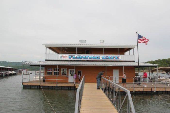Dine Right On The Water At This Floating Cafe In Missouri