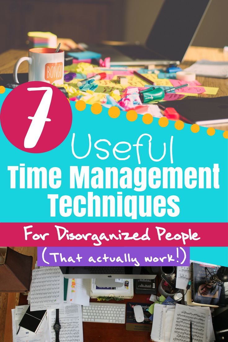 """You can be a little lazy, disorganized, have a """"Type B"""" personality, and be perfectly capable of succeeding at time management! However, you need different strategies to find success. Time management tips, tools, techniques, and resources to help motivate and improve your time management skills. #timemanagement #bulletjournal #planning #productivity #organization #selfimprovement"""