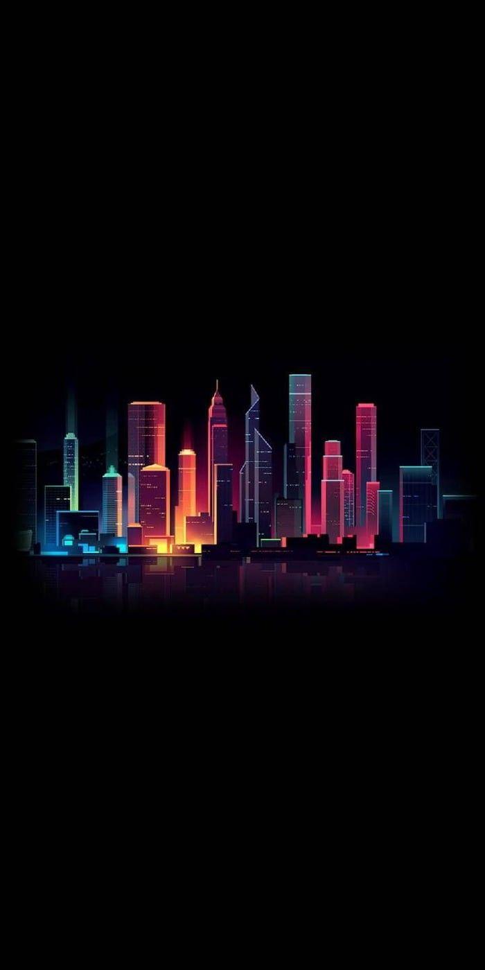 City Wallpaper City Iphone Wallpaper City Lights Wallpaper Dark Wallpaper Iphone