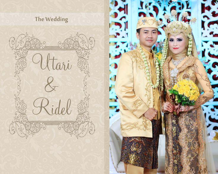 #utari #ridel #wedding #utaridlwan