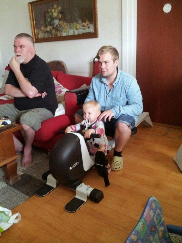 Fenja, onkel Dan og Tommy 2014