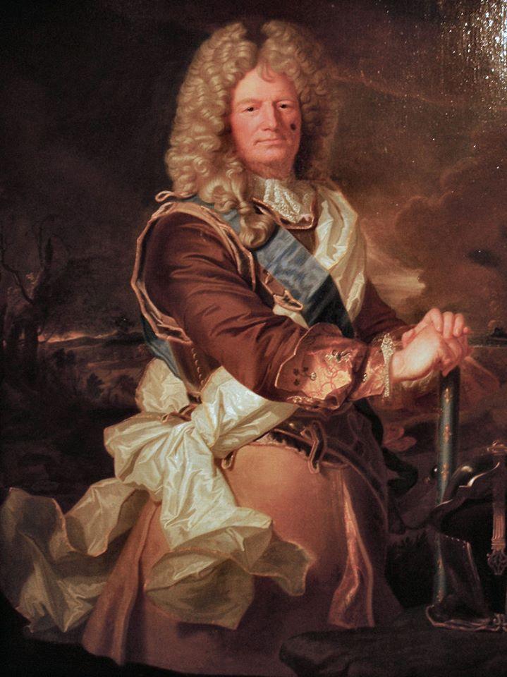 Sébastien Le Prestre, marquès de Vauban. Pintura de Hyacinthe Rigaud. Enginyer militar francès, dissenyador del 'sistema de fortificació Vauban' fins a la quasi total perfecció. http://ca.wikipedia.org/wiki/Sébastien_Le_Prestre_de_Vauban