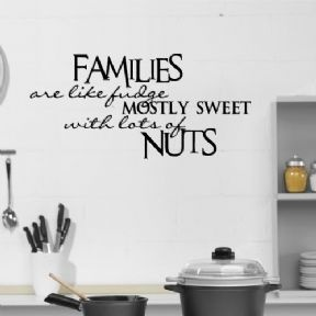 Families Fudge Kitchen Wall Art