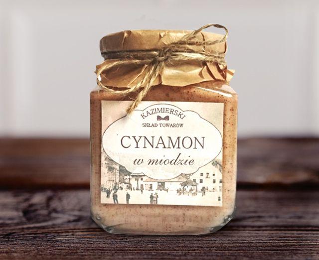 cynamon w miodzie