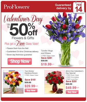 Flower discount coupons