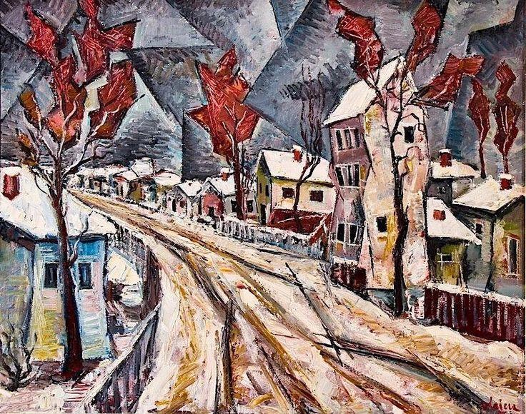 Vlaicu Ionescu: Peisaj de iarnă