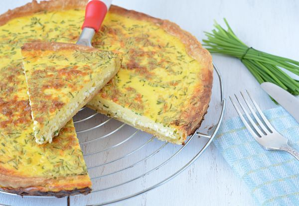 Three Cheese Quiche | Passion for cooking