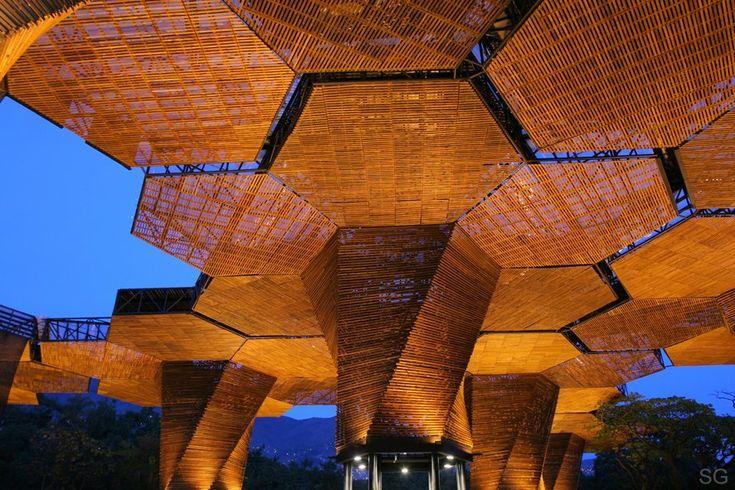 En Detalle: Cortes Constructivos / Cubiertas,Orquideorama / Plan B Arquitectos + JPRCR Arquitectos © Sergio Gómez