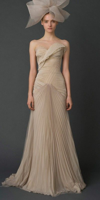 Vera Wang. wow. dress
