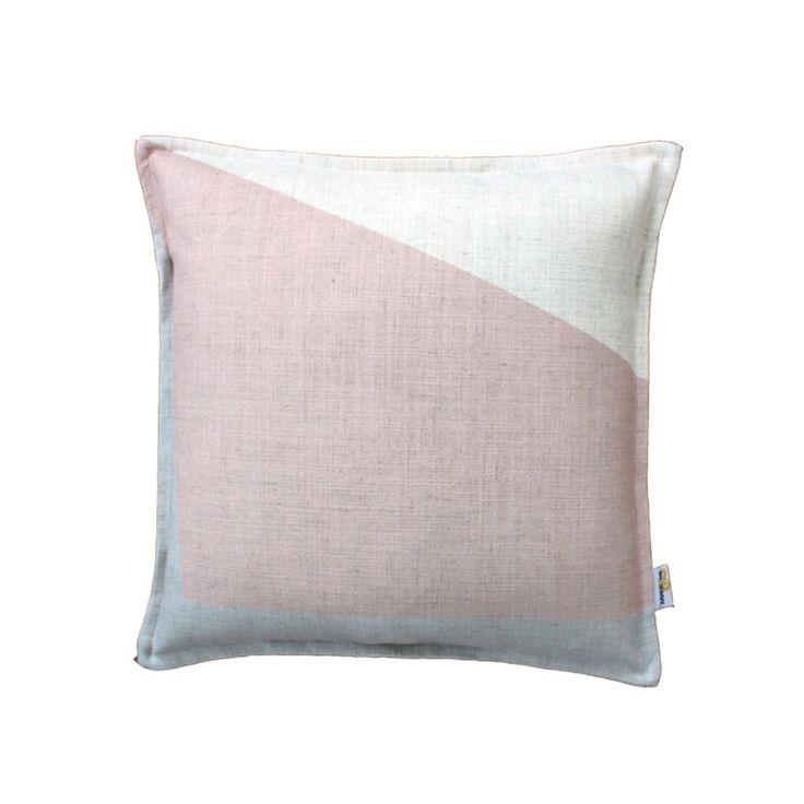 Block Cushion - Pink | $125.00