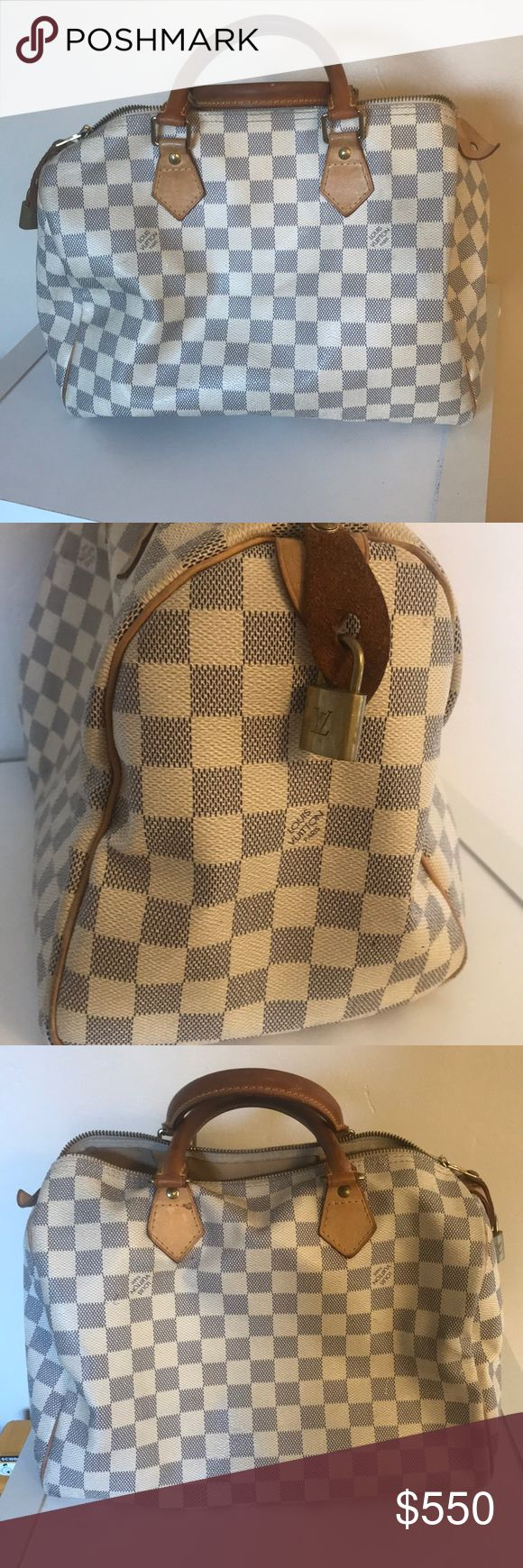 Louis Vuitton Speedy Bag Louis Vuitton Speedy Bag. Mostly just worn on the handles. good condition. Louis Vuitton Bags Mini Bags