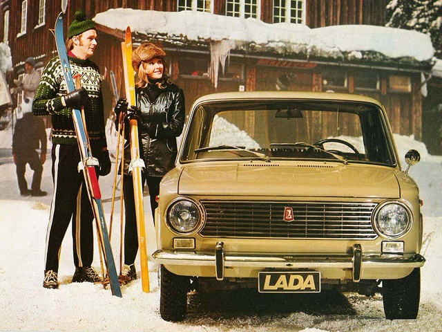 1971 Lada 1200, via Flickr.