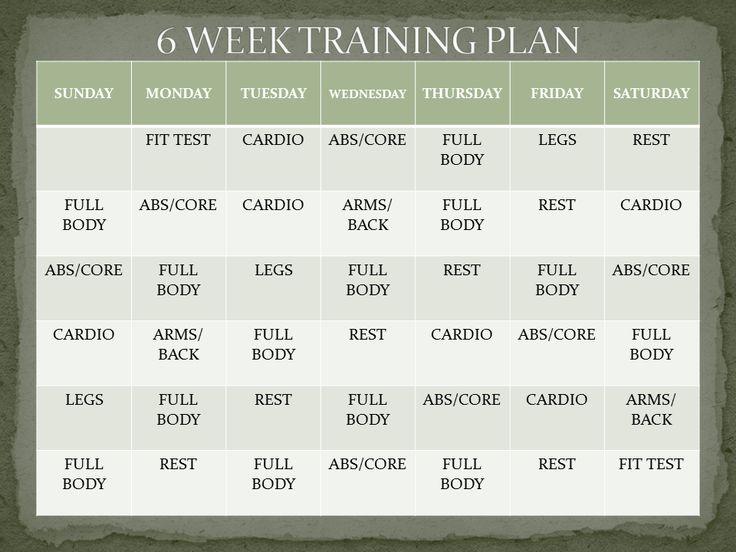 A 6 Week Workout Plan Ts Plans To Lose Weight Fast Loss Menu Free Pdf 2017