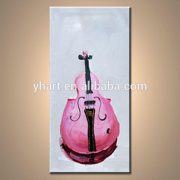 Музыкальные инструменты абстракция гитара стены искусства живописи для украшения дома на холсте-изображение-Живопись и каллиграфия-ID товара::60387618864-russian.alibaba.com