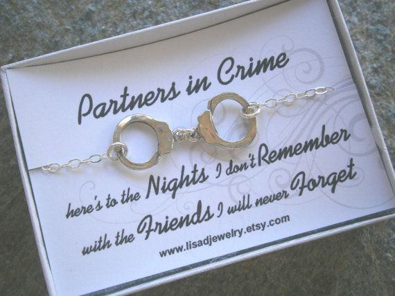 Sterling Silver Handcuff Necklace Or Bracelet Partners In
