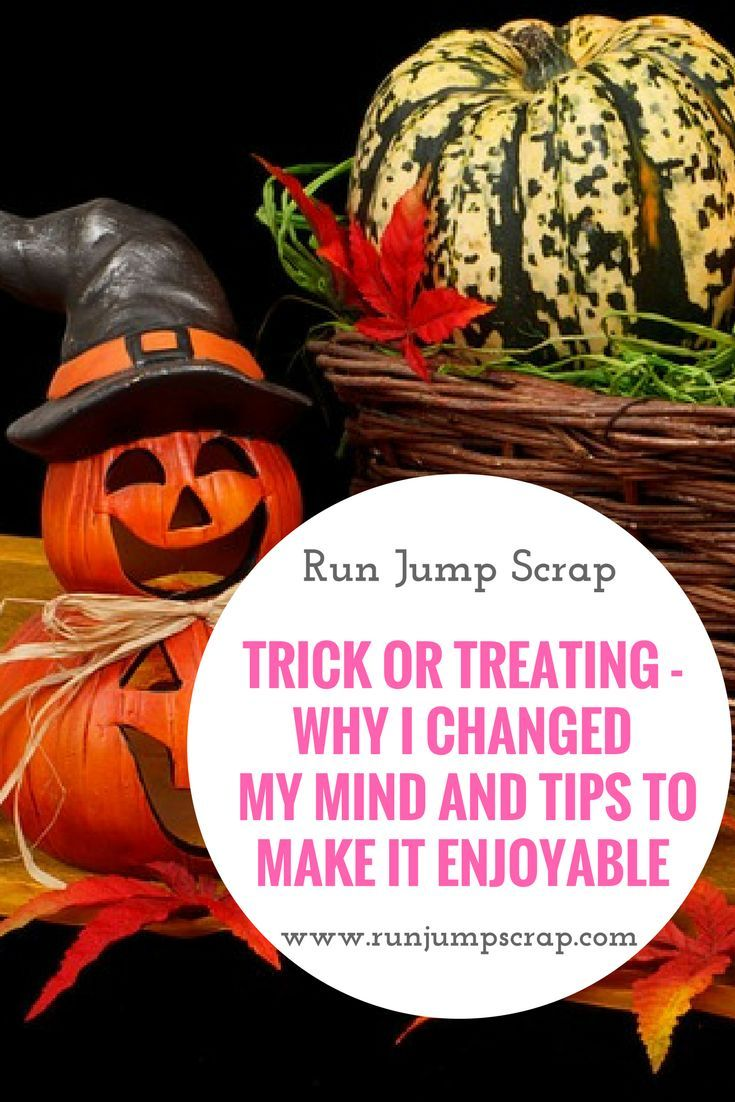 Trick or treating - why I changed my mind and tips to make it enjoyable - Run Jump Scrap! Halloween and kids.